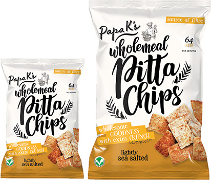 Papa K's Wholemeal Pitta Chips